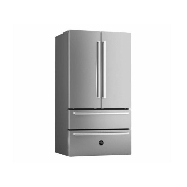 Bertazzoni 36 inch Freestanding French Door Stainless Steel