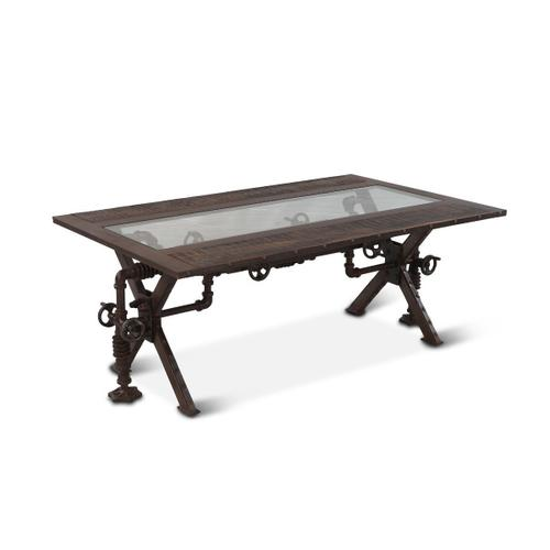 """Steampunk 48"""" Coffee Table"""