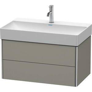 Vanity Unit Wall-mounted, Stone Gray Satin Matte (lacquer)