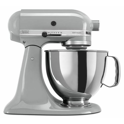 KitchenAid Canada - Refurbished Artisan® Series 5 Quart Tilt-Head Stand Mixer - Metallic Chrome