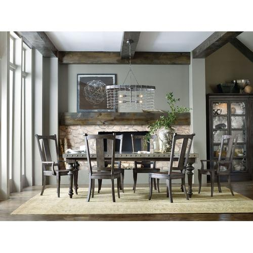 Dining Room Vintage West Rectangle Dining Table w/2-18in Leaves