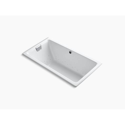 "White 66"" Heated Bubblemassage Air Bath"