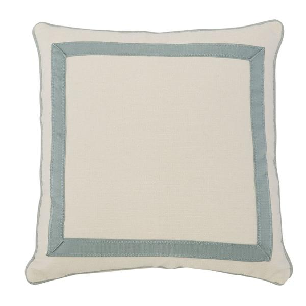 """See Details - Custom Decorative Pillows Mitered Tape Picture Frame (23"""" x 23"""")"""
