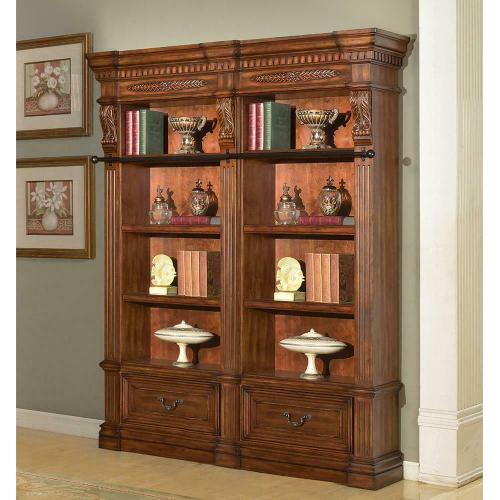 Parker House - GRAND MANOR GRANADA 2 piece Museum Bookcase (9030 and 9031)