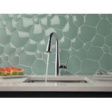 Chrome Single Handle Pull-Down Bar / Prep Faucet