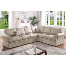 See Details - 2-pcs Sectional Sofa Set