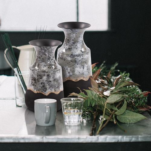 Howard Elliott - Embers Iron Vase, Medium