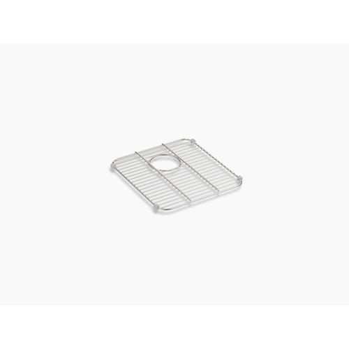 "Stainless Steel Stainless Steel Sink Rack, 14-1/4"" X 12-13/16"" for Iron/tones Smart Divide Kitchen Sink"