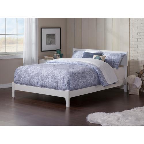 Orlando Full Bed in White