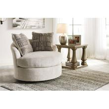 Soletren Swivel Accent Chair Stone