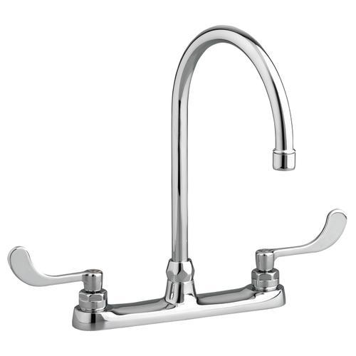 American Standard - Monterrey Top Mount 8 Inch Gooseneck Kitchen Faucet - Polished Chrome