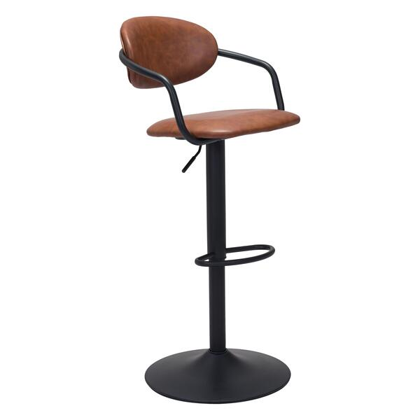 See Details - Kirby Bar Chair Vintage Brown