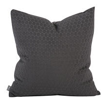 "Pillow Cover 20""x20"" Deco Pewter (Cover Only)"
