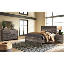 See Details - 6 Piece Set (3 Piece Queen Bed, Dresser, Mirror and Nightstand)