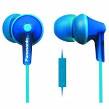 See Details - ErgoFit In-Ear Earbud Headphones with Mic + Controller - Blue - RP-TCM125-A