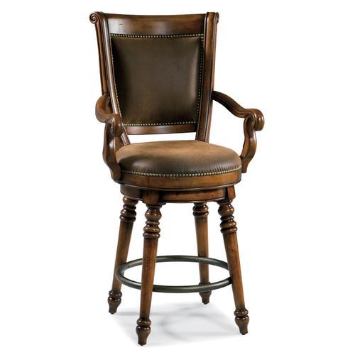 Hooker Furniture - Waverly Place Return Memory Swivel Counter Stool