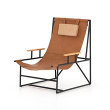 Chestnut Brown Cover Judson Sling Chair