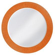 View Product - Bergman Mirror - Glossy Orange