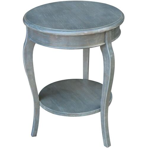 Cambria Accent Table in Heather Gray