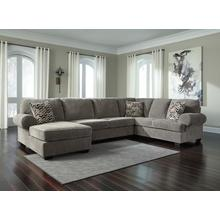 Jillingsly III Sectional Gray Left