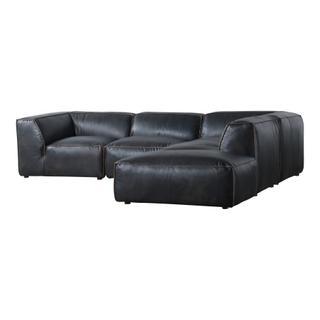 Luxe Dream Modular Sectional Antique Black