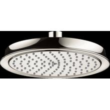 Polished Nickel Showerhead 180 1-Jet, 2.0 GPM