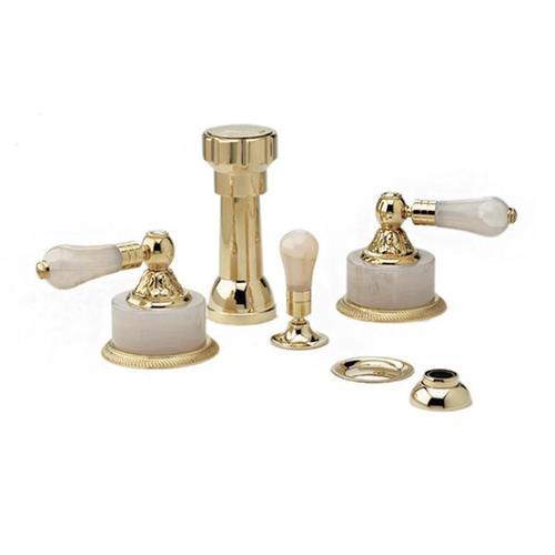VERSAILLES Four Hole Bidet Set K4243 - Polished Gold