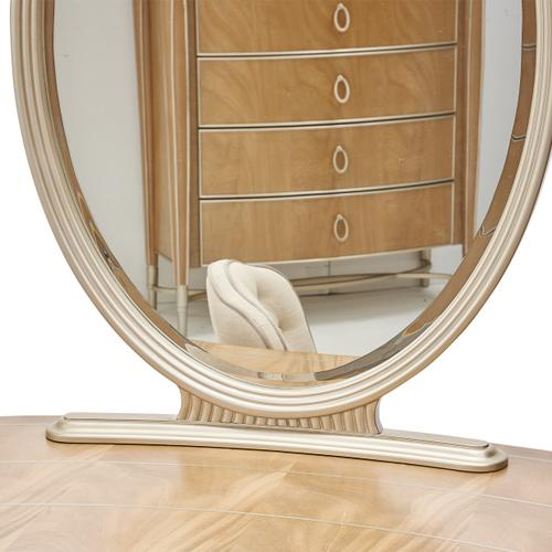 Vanity Desk & Mirror 2pc