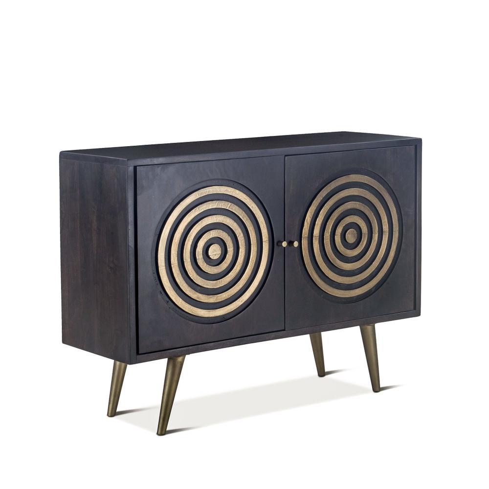 "Tunisia 48"" Sideboard Antique Ebony"