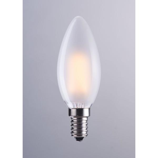 See Details - E12 Type B 4w Led 98 X 35 Mm Frosted White