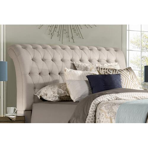 Richmond King Headboard, Linen Stone