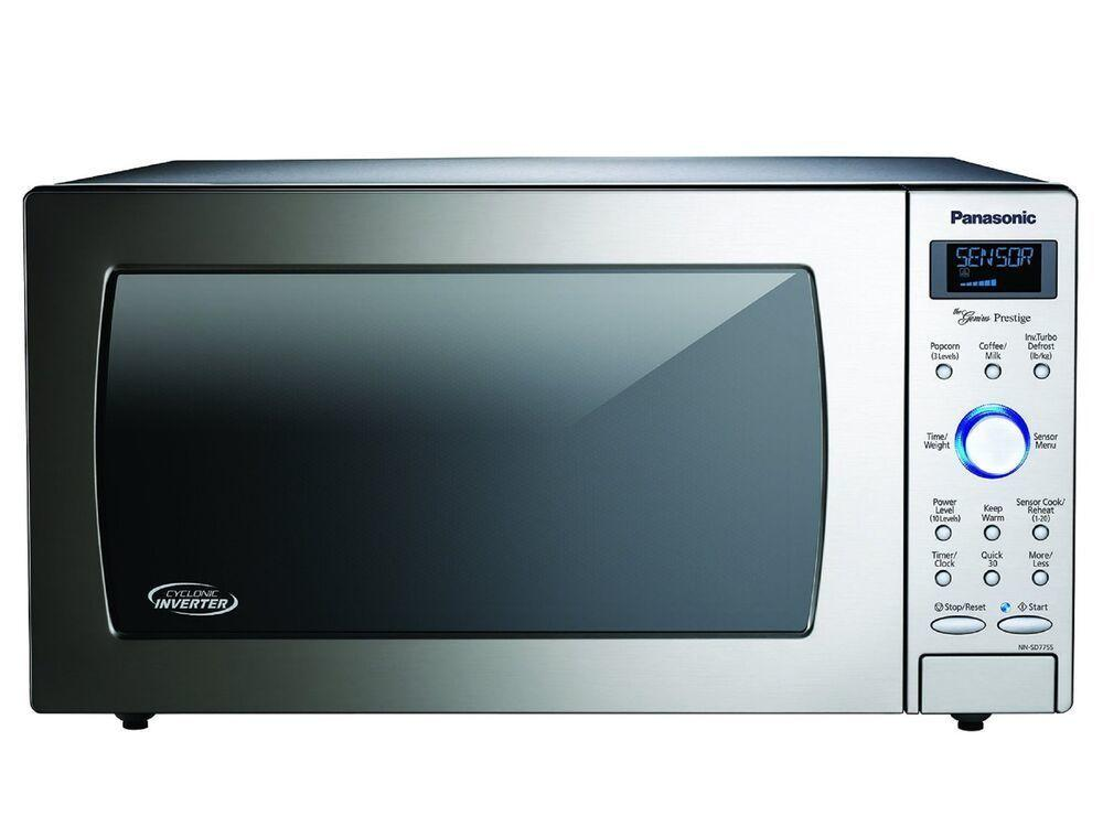 Panasonic1.6 Cu. Ft. Built-In/countertop Cyclonic Wave Microwave Oven With Inverter Technology - Stainless Steel - Nn-Sd775s