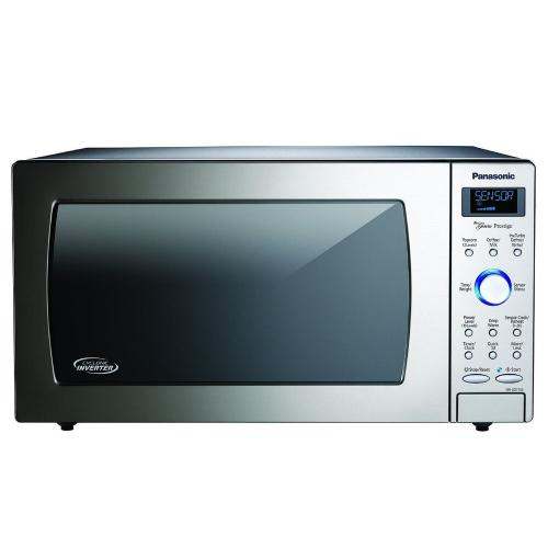 1.6 Cu. Ft. Built-In/Countertop Cyclonic Wave Microwave Oven with Inverter Technology - Stainless Steel - NN-SD775S