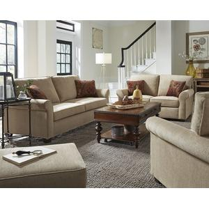 3 Cushion Sofa - Shown in 101-01 Beige Chenille Finish