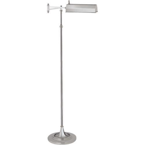Visual Comfort - E. F. Chapman Dorchester 37 inch 40.00 watt Polished Nickel Swing-Arm Floor Lamp Portable Light