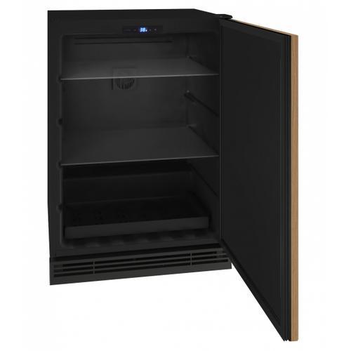 "U-Line - Hre124 24"" Refrigerator With Integrated Solid Finish (115v/60 Hz Volts /60 Hz Hz)"