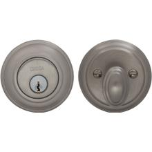 Traditional Auxiliary Deadbolt Kit in (US15 Satin Nickel Plated, Lacquered)