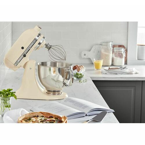 Artisan® Series 5 Quart Tilt-Head Stand Mixer Almond Cream