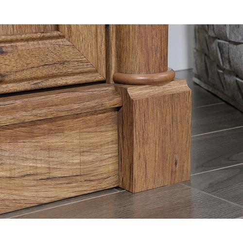 Sauder - L-Shaped Desk in Vintage Oak finish