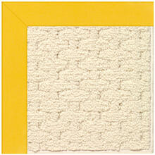Creative Concepts-Sugar Mtn. Canvas Sunflower Yell Machine Tufted Rugs