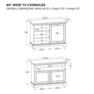See Details - Howard Miller Custom TV Console TS46G