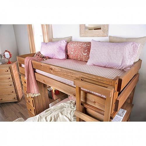 Furniture of America - Beckford Twin/twin Loft Bed