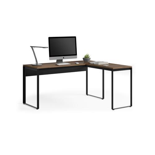 BDI Furniture - Linea 6224 Work Desk Return in Natural Walnut