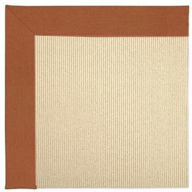 Creative Concepts-Beach Sisal Canvas Rust - Rectangle - Custom