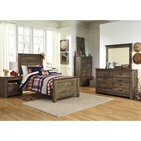 Trinell 3-Pc Twin Bedroom Set Brown