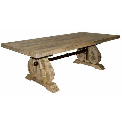 Million Dollar Rustic - 8' Savannah Burnt Cream Table