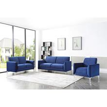 Abigail Blue Sofa and Loveseat 2PC Set