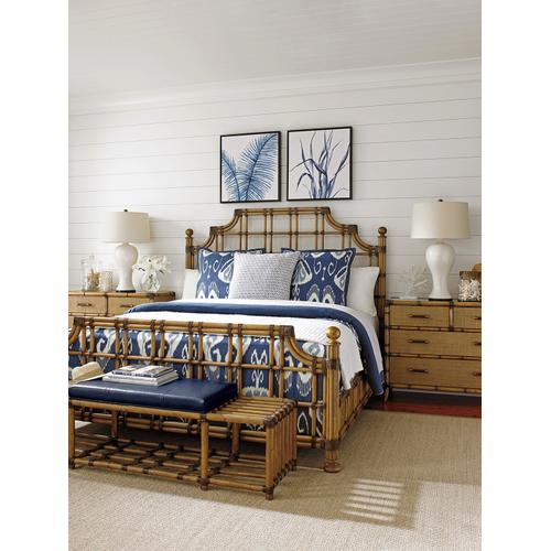 Tommy Bahama - Seafarer Leather Bench