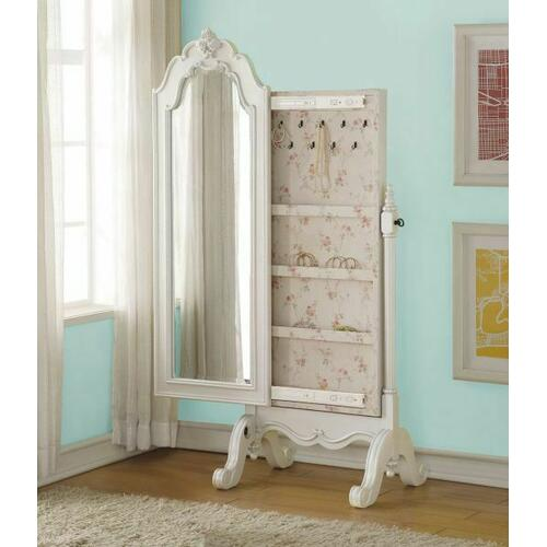 ACME Edalene Jewelry Armoire - 30520 - Pearl White