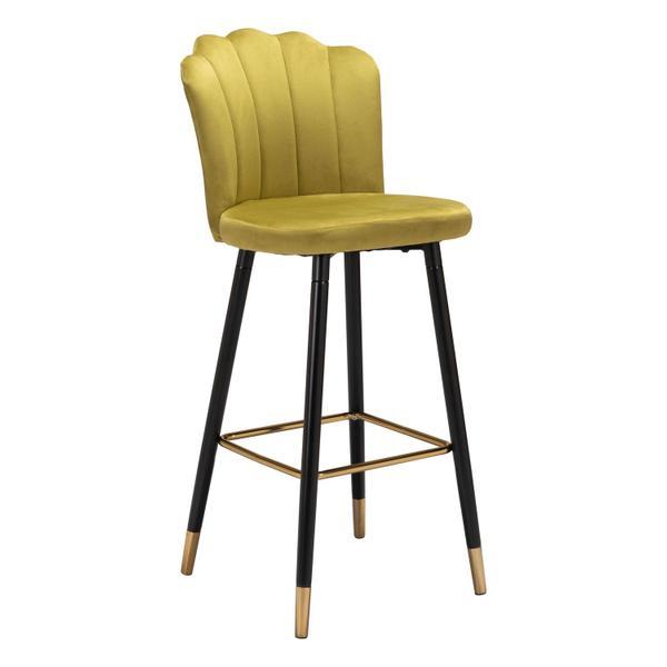 See Details - Zinclair Bar Chair Yellow